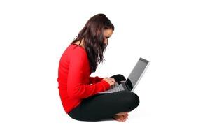 ordinateur fille
